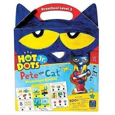 Hot Dots Jr. Pete the Cat Preschool Rocks Set - Learning Resources