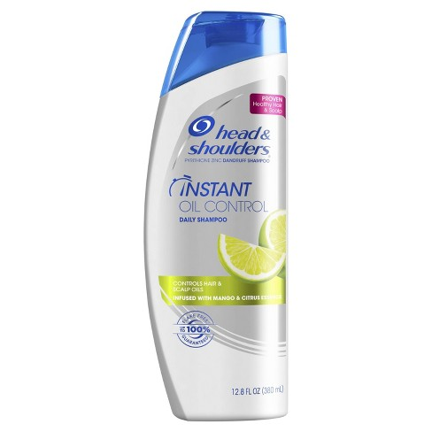 Head and Shoulders Instant Oil Control Anti-Dandruff Shampoo - 12.8 fl oz - image 1 of 4