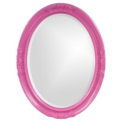 Queen Ann Hot Pink Mirror - Howard Elliott