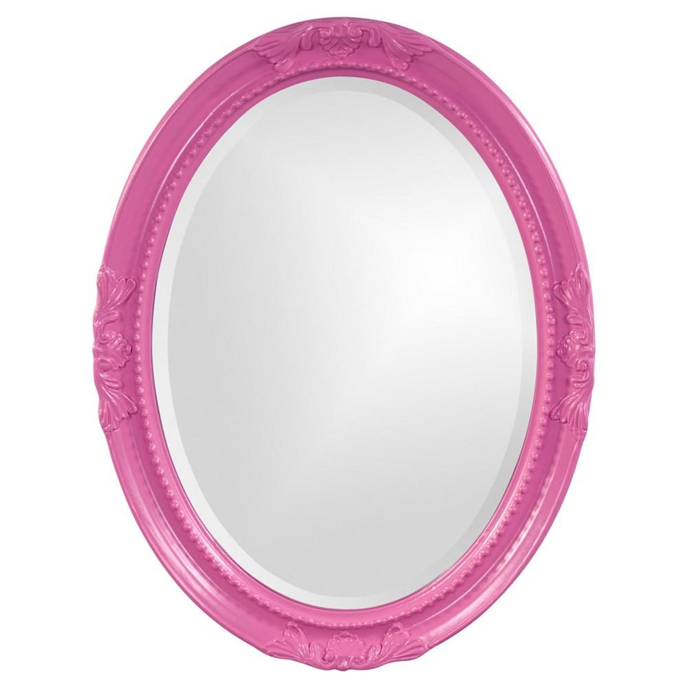 Image of Howard Elliott - Queen Ann Hot Pink Mirror