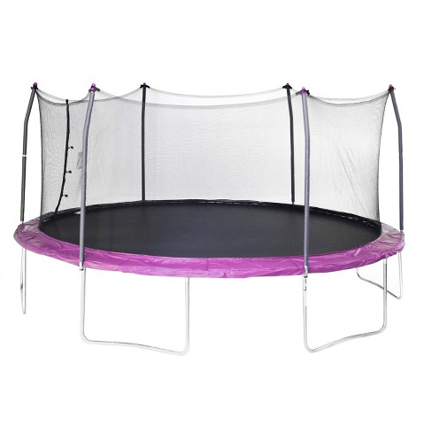 Skywalker Trampolines 17' Oval Trampoline with Enclosure - Purple - image 1 of 6