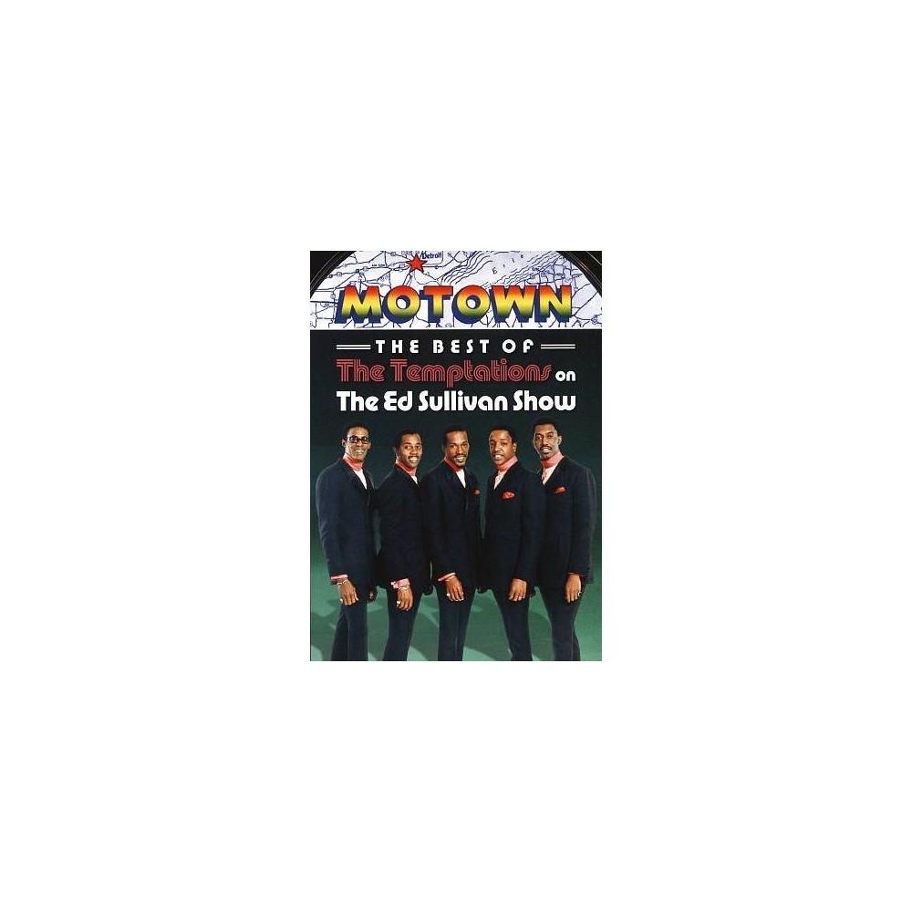 Best/Temptations On The Ed Sullivan S (Dvd)