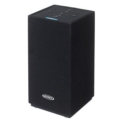 JENSEN Amazon Alexa-Enabled Bluetooth/Wi-Fi Wireless Stereo Smart Speaker with Aux-in (JSB-550)