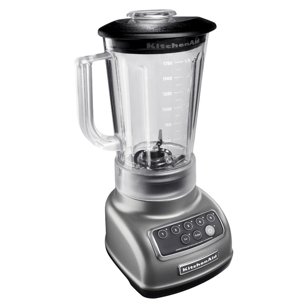 KitchenAid Multifunction 56oz 5-Speed Blender – Silver KSB1570 14648975