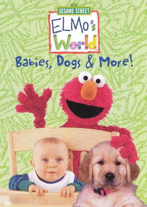 Elmo's world:Babies dogs & more (DVD) - image 1 of 1