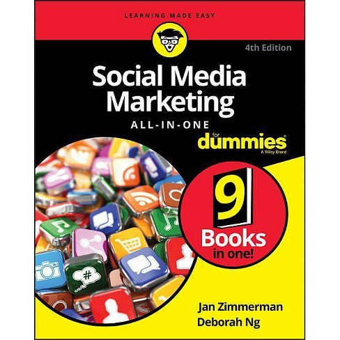 Social Media Marketing All-In-One for Dummies - (For Dummies (Computers)) 4 Edition (Paperback) - image 1 of 1