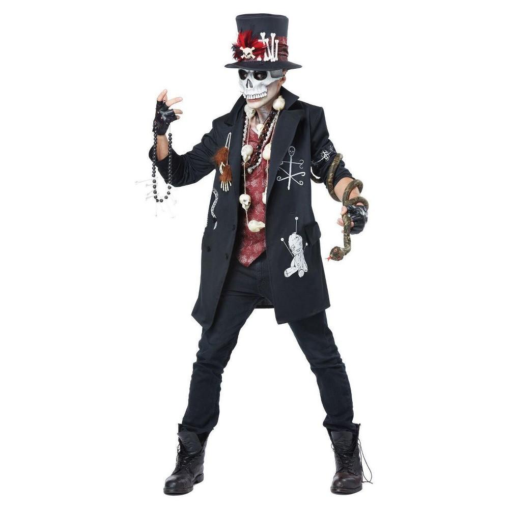 Men's Voodoo Dude Adult Costume Medium, Multicolored