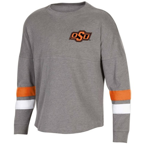 competitive price 6b5a1 5d151 NCAA Oklahoma State Cowboys Girls' Long Sleeve Spirit T-Shirt