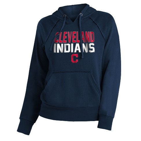 MLB Cleveland Indians Women's 7th Inning Stretch Hoodie - image 1 of 1