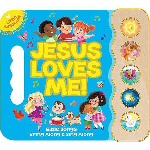Jesus Loves Me Songbook - (Little Sunbeams) by  Ginger Swift (Board Book) - image 1 of 1