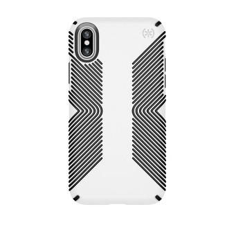 Speck iPhone X Case Presidio Grip - White/Black