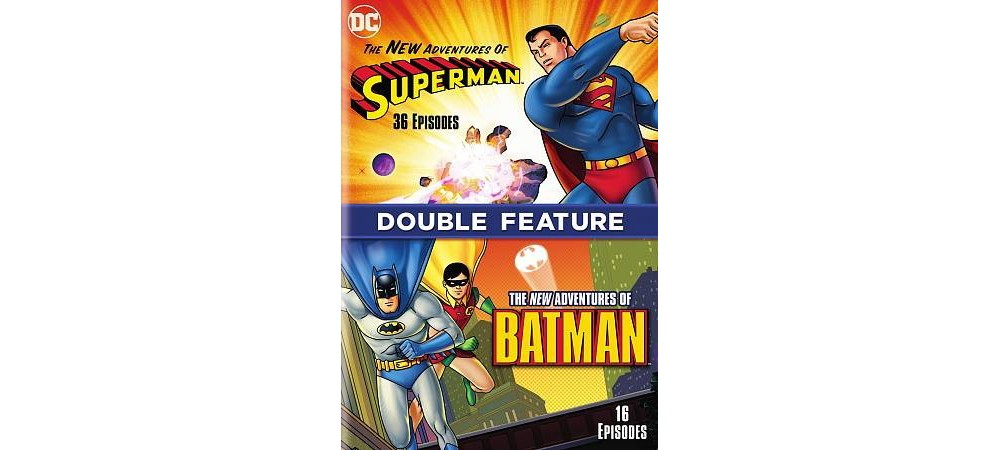 New Adventures Of Batman/New Adv Of S (Dvd)