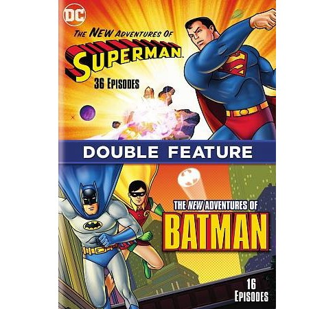 New Adventures Of Batman/New Adv Of S (DVD) - image 1 of 1