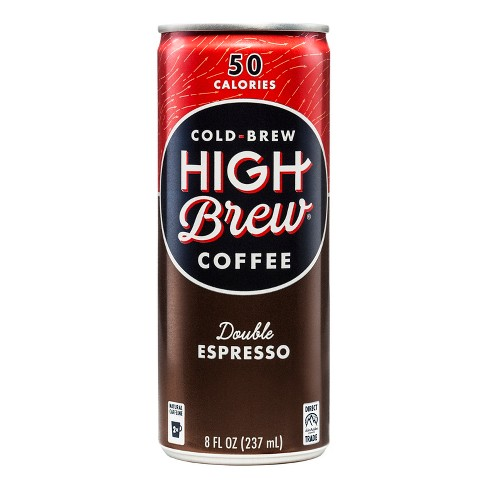 High Brew Coffee Double Espresso - 8 fl oz Can - image 1 of 1