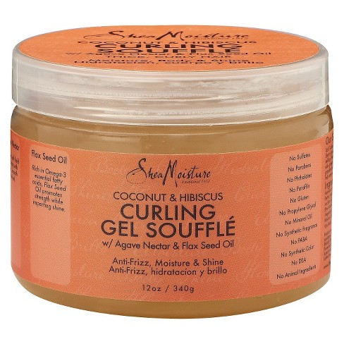 SheaMoisture Coconut & Hibiscus Curling Gel Souffle - 12oz - image 1 of 2