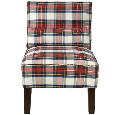 Armless Chair - Stewart Dress Multi - Skyline Furniture