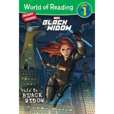 World of Reading: This Is Black Widow - by Disney (Paperback)