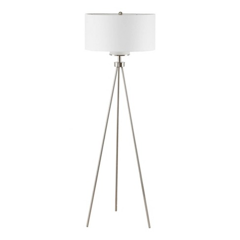 Pacific Tripod Metal Floor Lamp Silver (Lamp Only) - image 1 of 4