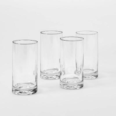 16.8oz 4pk Glass Telford Tall Tumblers - Threshold™