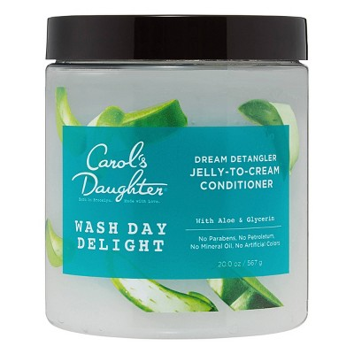 Carol's Daughter Wash Day Delight Detangling Jelly-to-Cream Moisturizing Conditioner with Aloe for Curly Hair - 20 fl oz