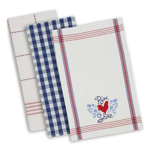 Set of 3 Rooster Kitchen Towel - Design Imports : Target