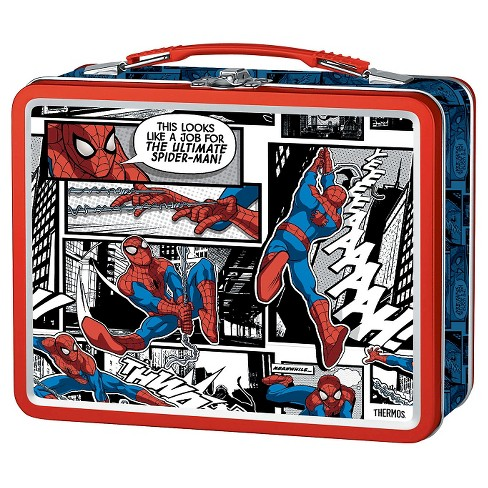 Thermos Metal Lunch Box - Spider-Man (Red) - image 1 of 1
