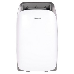 Honeywell -  12000-BTU HL Series Portable Air Conditioner with Remote Control - White/Gray