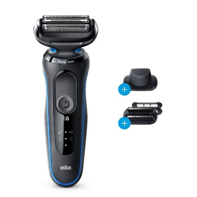 Braun Series 5-5035s Men's Rechargeable Wet & Dry Electric Foil Shaver