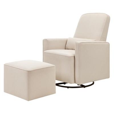 Stupendous Davinci Olive Glider And Ottoman Machost Co Dining Chair Design Ideas Machostcouk