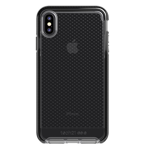 uk availability 9a351 4f916 Tech21 Apple iPhone X/XS Evo Check Case - Smokey/Black