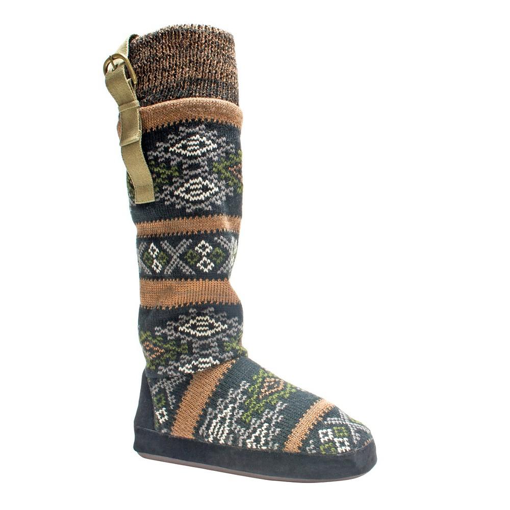 Women's Muk Luks Angela Slipper Boots - Copper (Brown) S(5-6), Size: S (5-6)