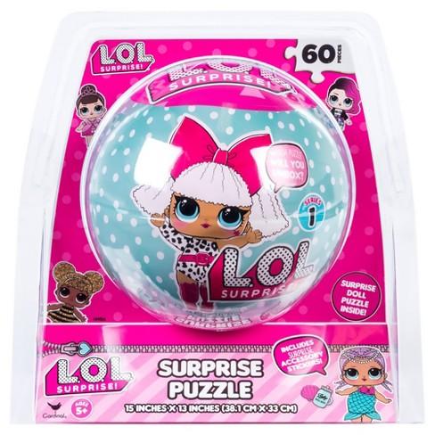 L O L Surprise 60pc Puzzle Sphere Target