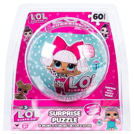 Cardinal L.O.L. Surprise! Sphere Puzzle 60pc, Kids Unisex image number null