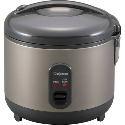 Zojirushi 5.5-Cup Automatic Rice Cooker & Warmer - Metallic Gray