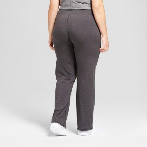 faacdf0ee4cd Women s Plus Size Cotton Spandex Semi-Fit Pants - C9 Champion®   Target