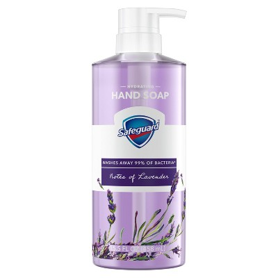 Safeguard Liquid Hand Soap with Nourishing Notes of Lavender - 15.5 fl oz