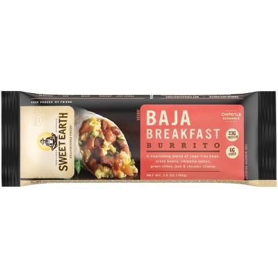 Sweet Earth Baja Frozen Breakfast Burrito - 7oz