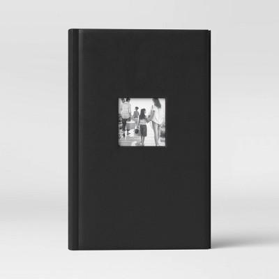 "4"" x 6"" Photo Album Black 3 Per Page - Threshold™"