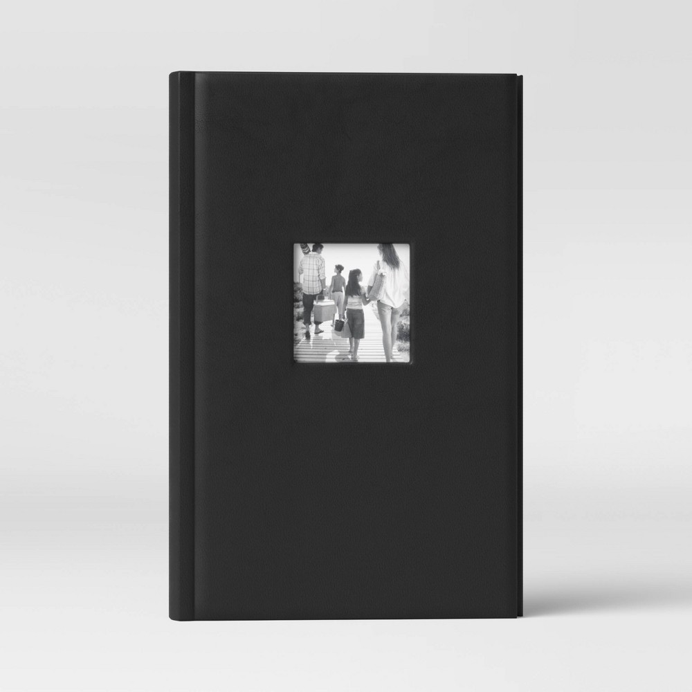 "Image of ""4"""" x 6"""" Photo Album Black 3 Per Page - Threshold"""