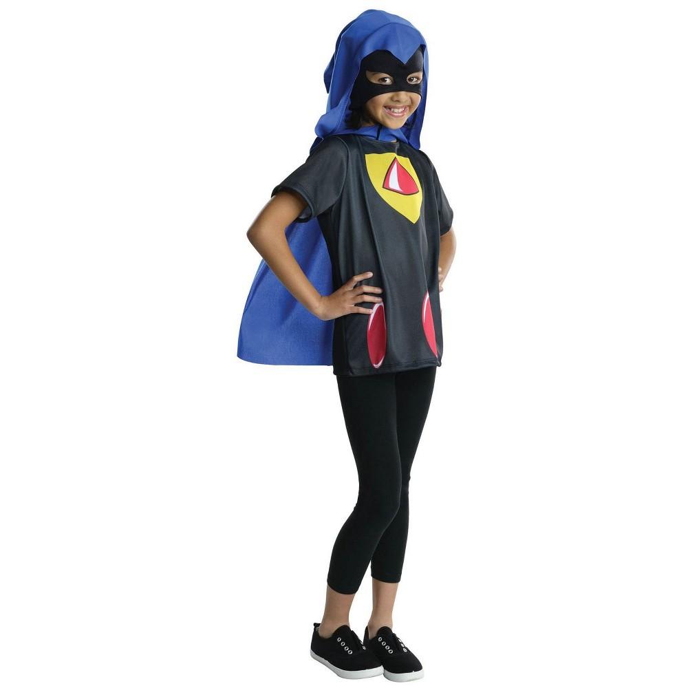 Teen Titans Kids' Cyborg Halloween Costume Top M - Rubie's, Girl's, Multicolored