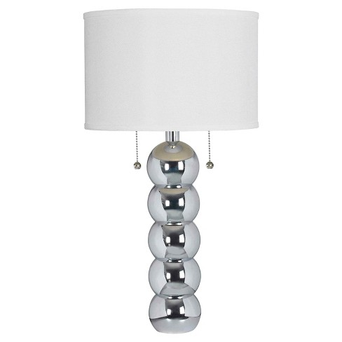 Kenroy Home Table Lamp - Chrome - image 1 of 2