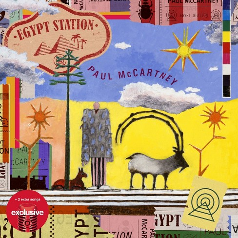 Paul McCartney - Egypt Station (Target Exclusive) (CD) - image 1 of 1
