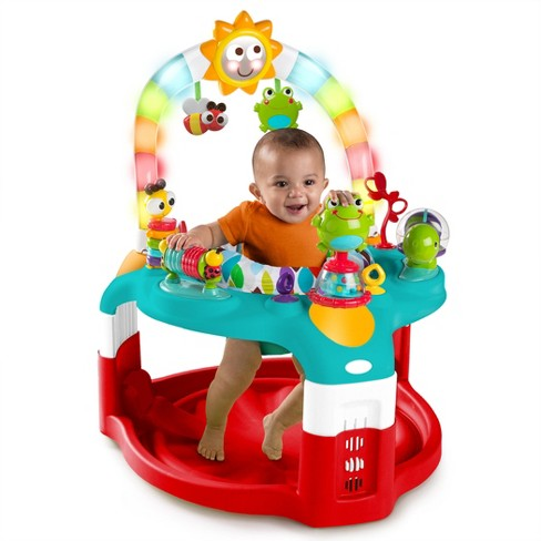 924b37356 Bright Starts 2-in-1 Silly Sunburst Activity Gym   Saucer - Red   Target