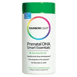 Rainbow Light Prenatal DHA Smart Essentials Dietary Supplement Softgels - 60ct