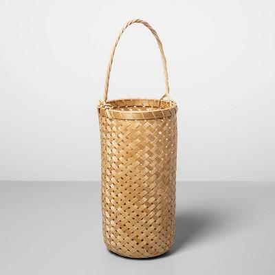 "18.5"" x 6"" Bamboo Hanging Basket Natural - Opalhouse™"