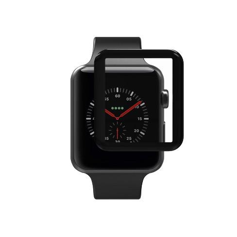 buy popular 446c8 58505 ZAGG Apple Watch Series 3 42mm Glass Screen Protection - Black
