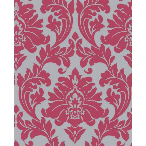 Majestic Wallpaper - Hot Pink - image 1 of 2