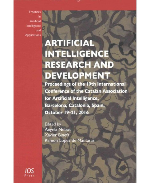 Artificial Intelligence Research and Development : Proceedings of the 19th International Conference of - image 1 of 1