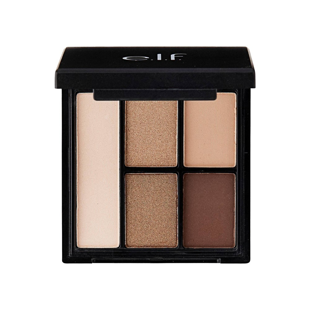Image of e.l.f. Clay Eyeshadow Palette Necessary Nudes - .26oz