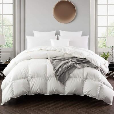 Puredown All Season 75% White Down Baffle Box Comforter